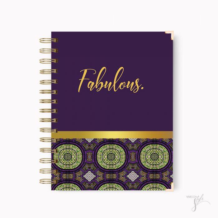 Fabulous notebook journal