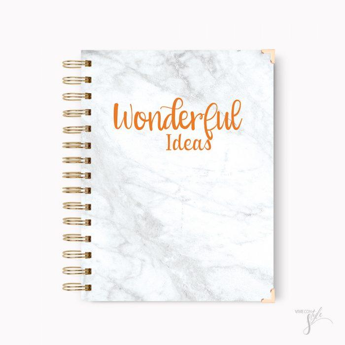 Wonderful ideas notebook journal