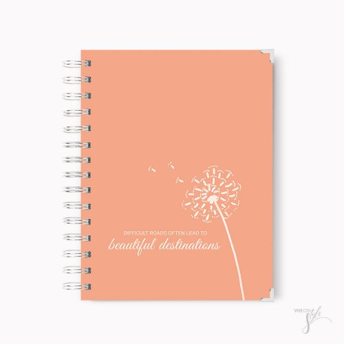 Beautiful destination notebook