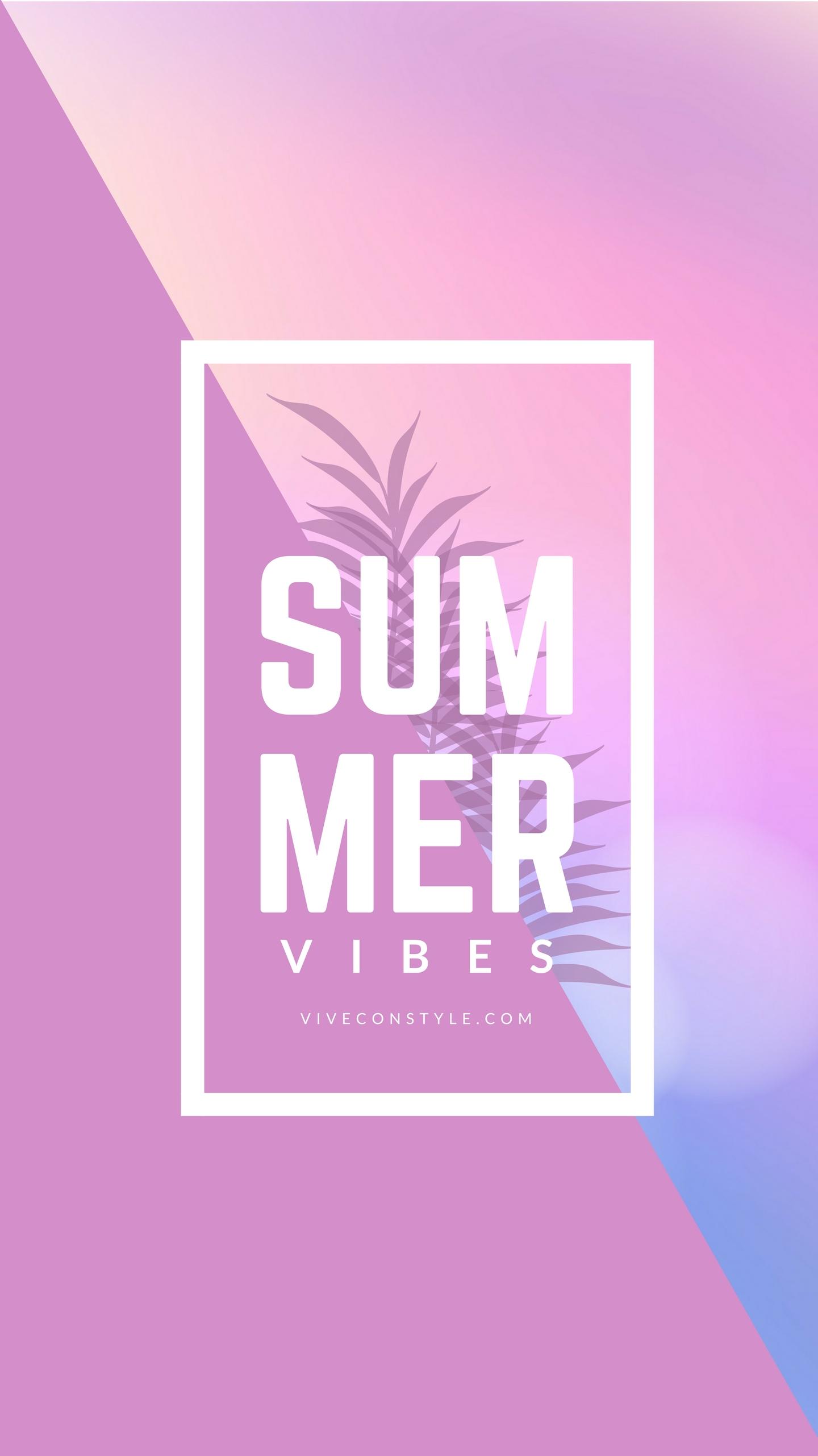 Summer Vibes Wallpaper Mobile Wallpaper Pink Wallpaper Iphone Wallpaper Android Wallpaper