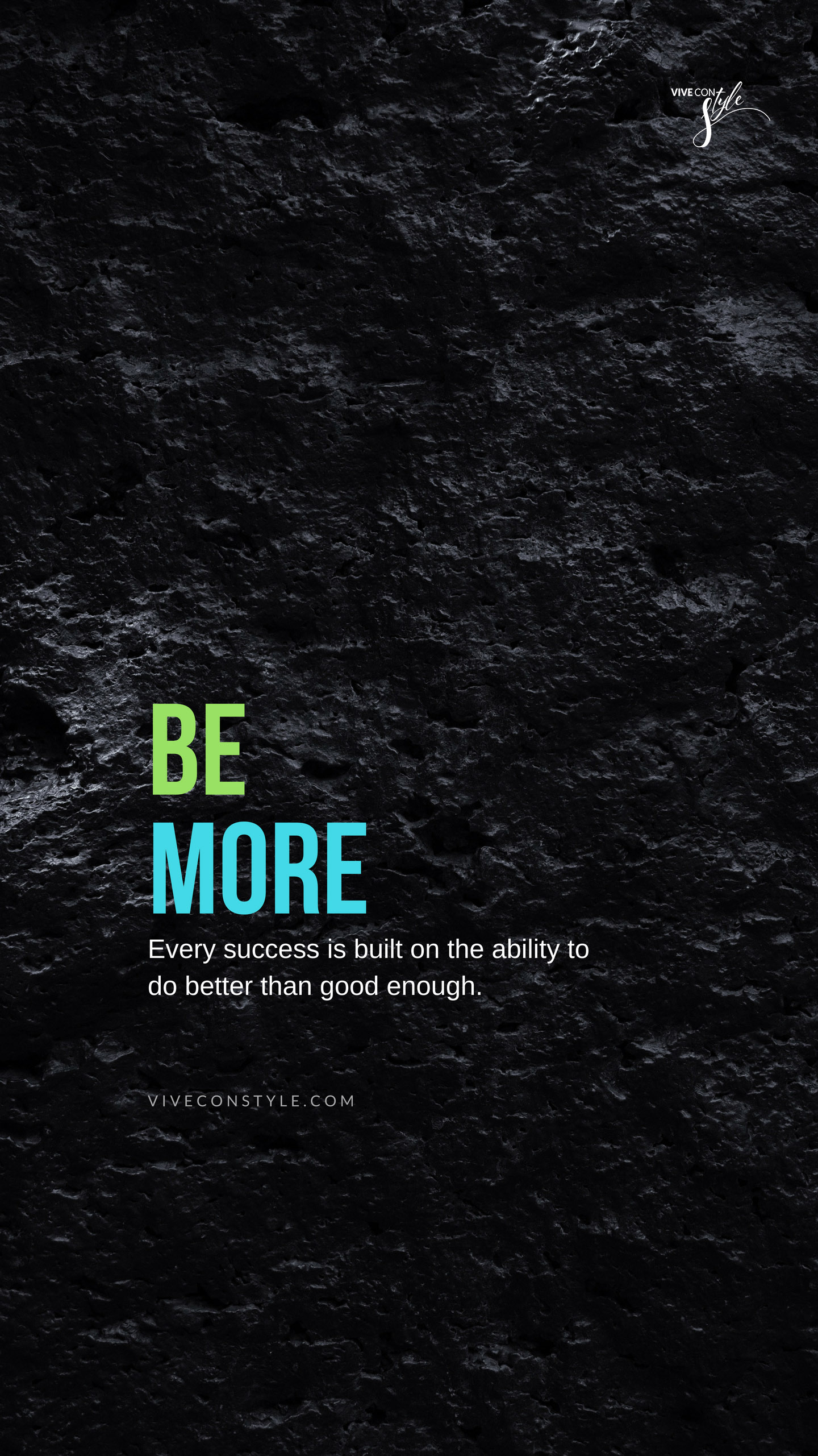 Be more inspirational quotes wallpaper