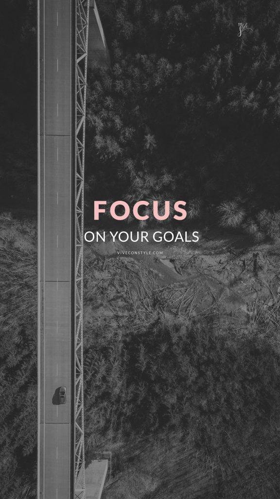 Goals mobile phone wallpaper