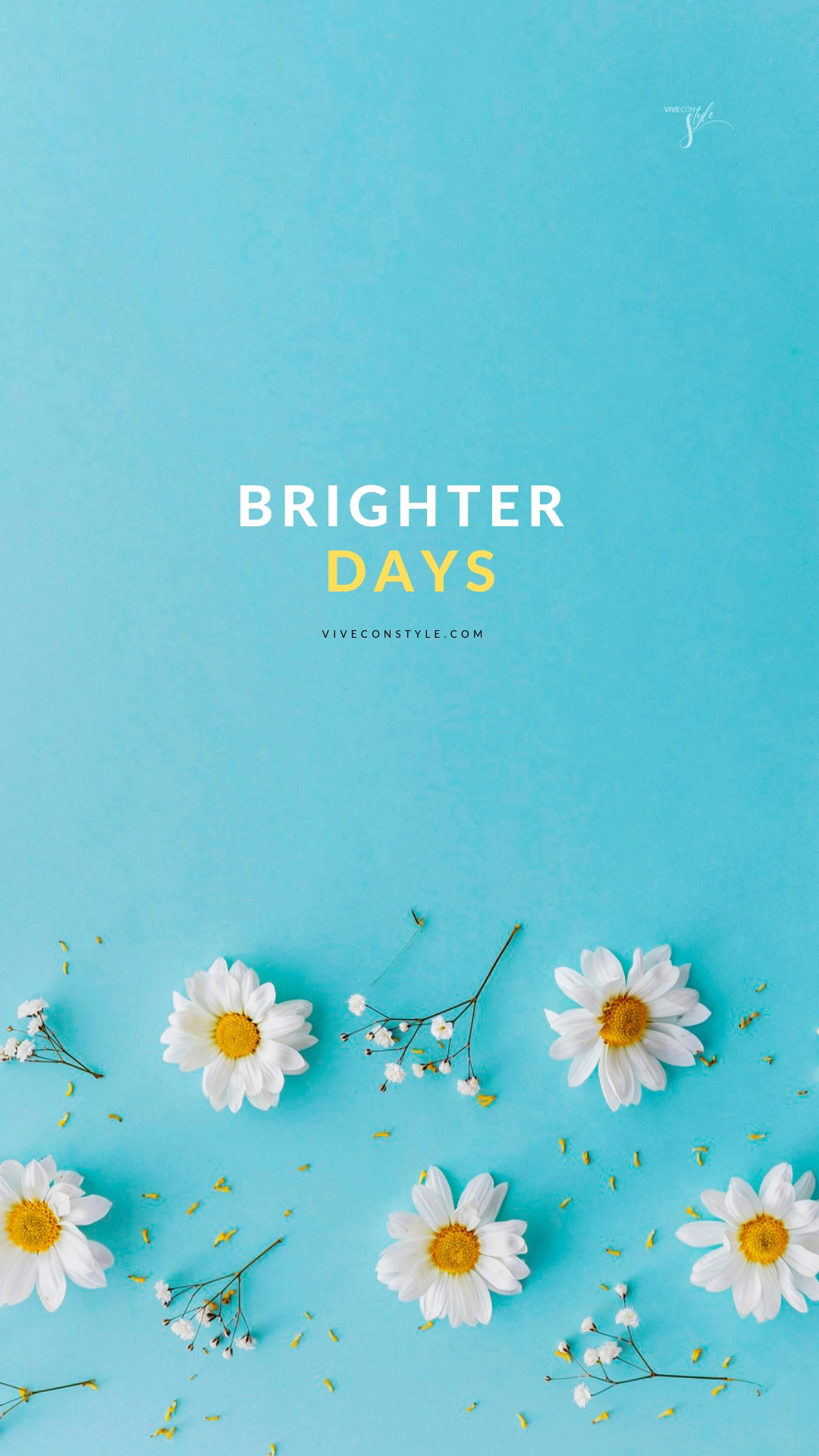 Brighter Days Spring Mobile Wallpaper Vive Con Style