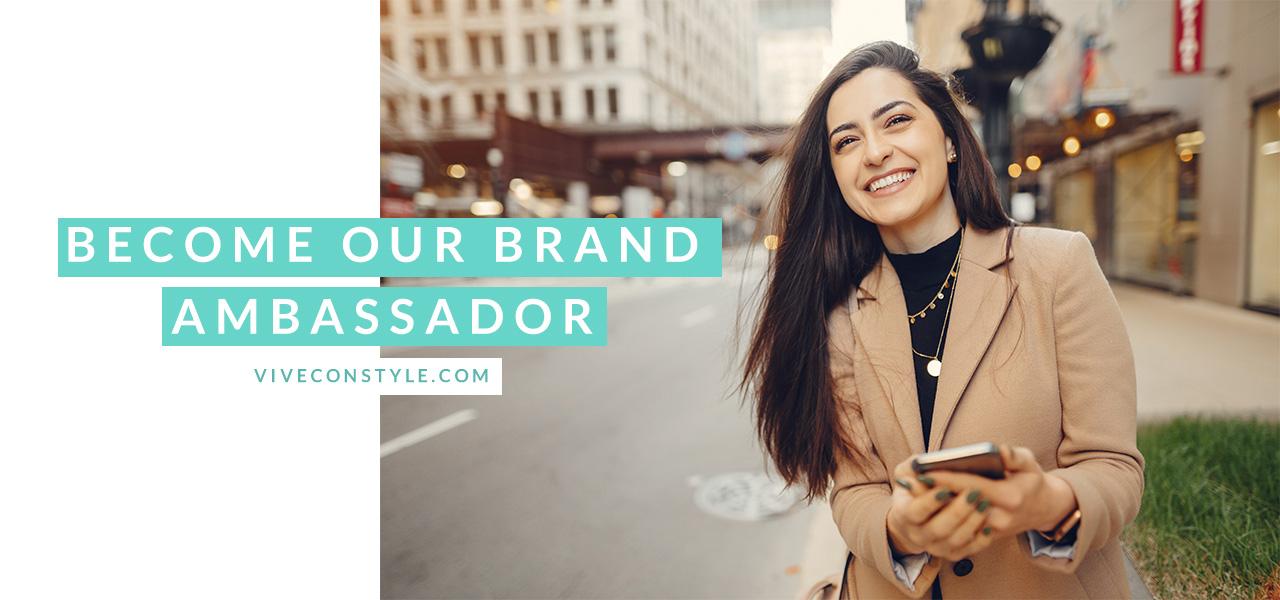 Become our brand ambassador