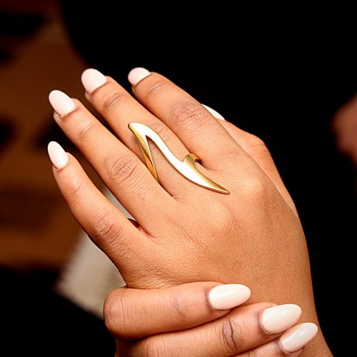 Statement ring for women