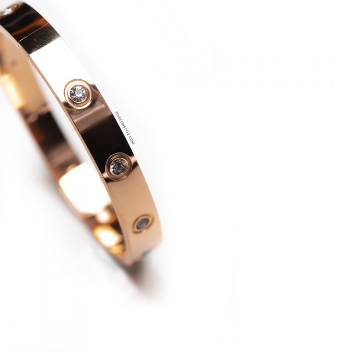 Nova rose gold bracelet