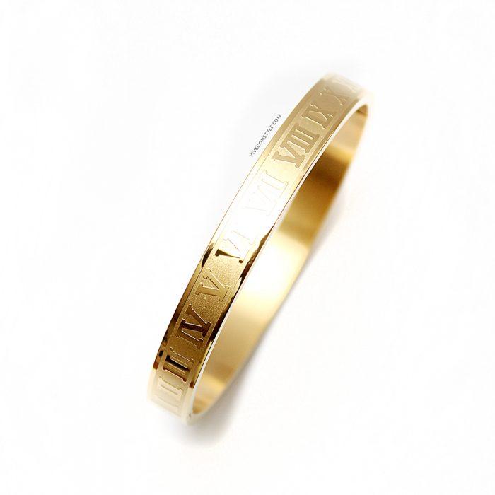 Nyssa XX gold bracelet
