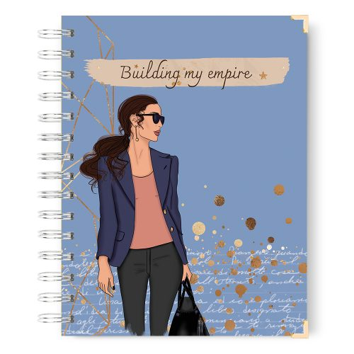 Building my empire notebook journal lined