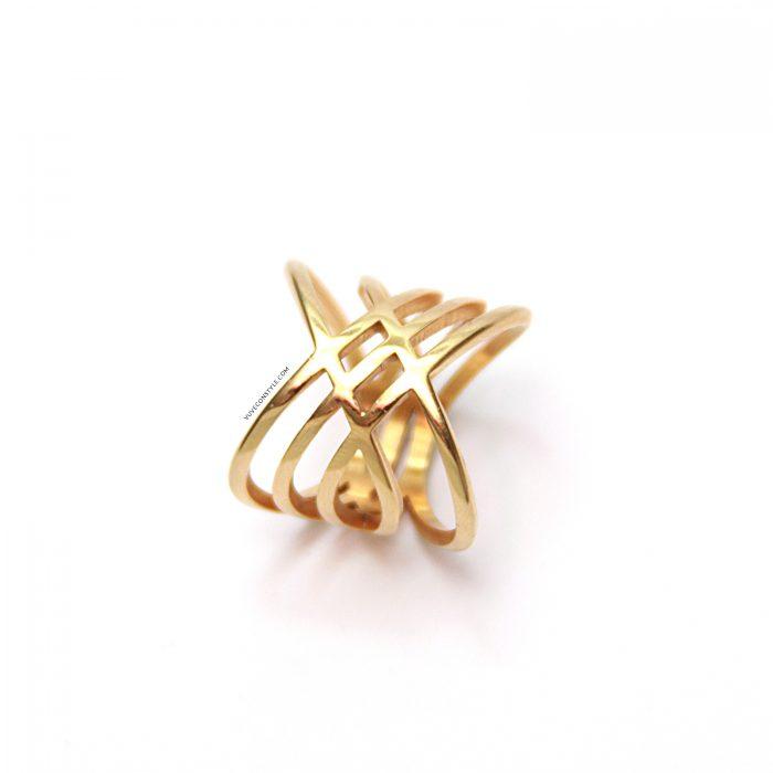 Amara gold ring