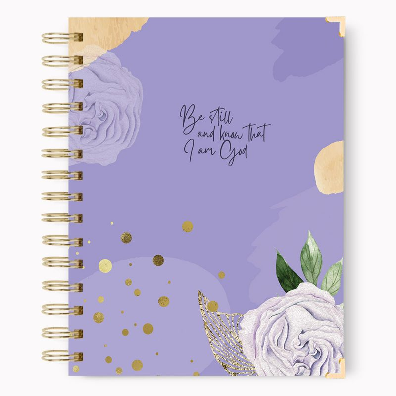 Be Still and Know Hardcover Notebook Journal